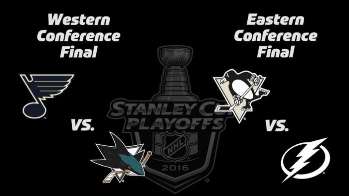 NHL: Aí estão as finais de Conferência