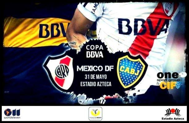 El Superclásico argentino se disputará en el Estadio Aztec