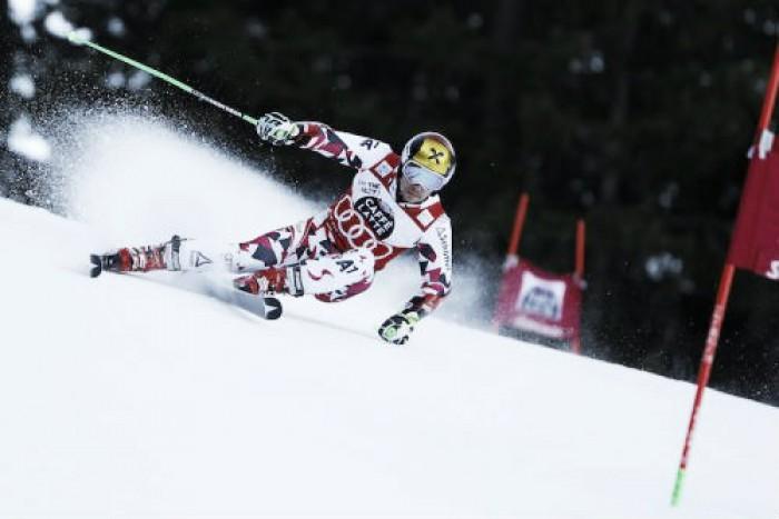 Sci Alpino Val Badia, Slalom Gigante: Hirscher domina la 1a manche