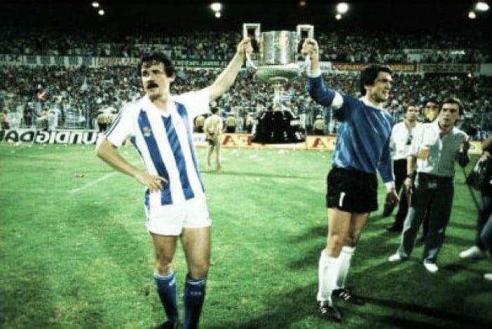 Trayectoria de la Real Sociedad en Copa desde 1.987