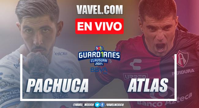 Gol y resumen: Pachuca 0-1 Atlas en Jornada 6 de la Liga MX Guard1anes 2021