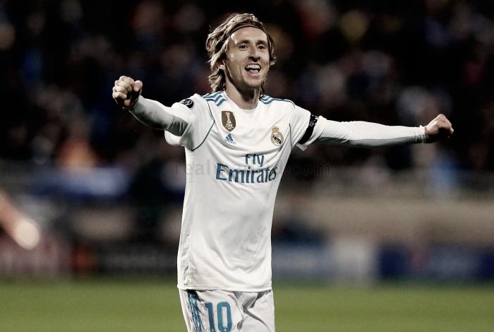 Modric marca en Champions League dos años después