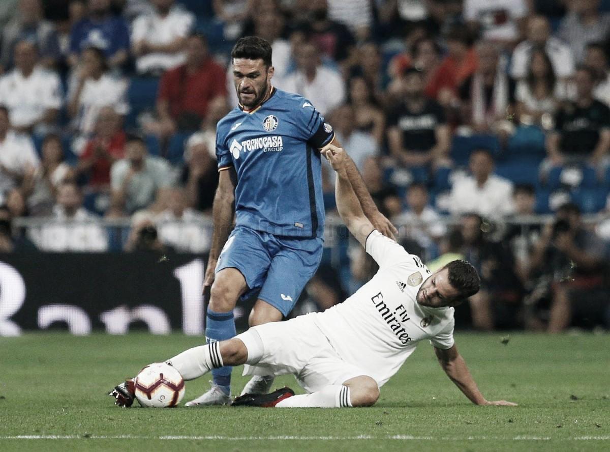Nacho, el mejor jugador del Madrid ante el Getafe
