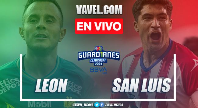 Goles y resumen: León 3-1 San Luis en Liga MX Guardianes 2021