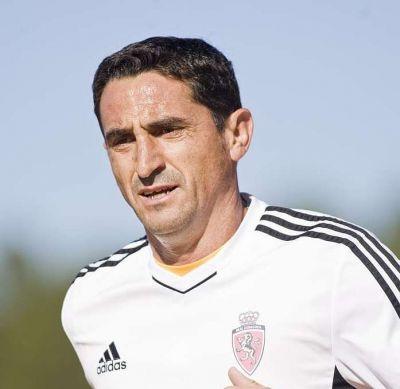 """Manolo Jiménez: """"Me voy a dejar el alma por defender al Real Zaragoza"""""""
