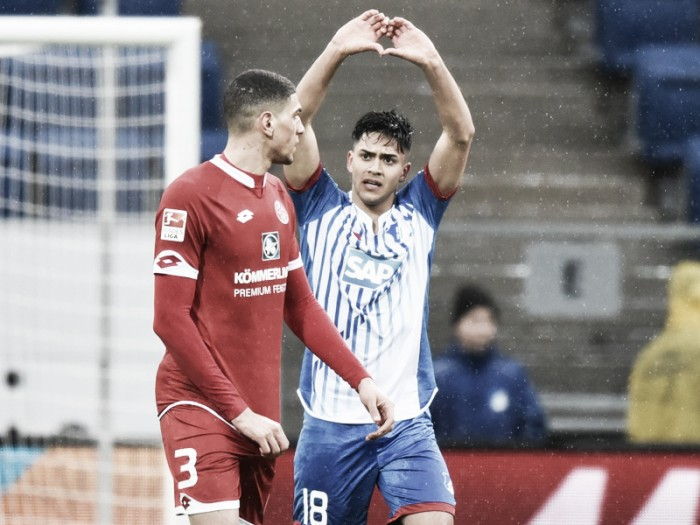 TSG 1899 Hoffenheim 3-2 1. FSV Mainz 05: Nagelsmann earns first win thanks to Uth double