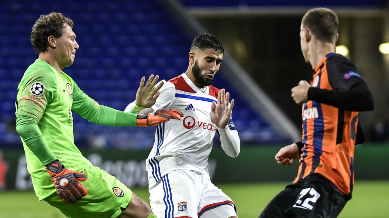El Lyon rescata un empate ante el Shakhtar en el último momento