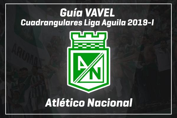Guía VAVEL Colombia, cuadrangulares Liga Aguila 2019-I: Atlético Nacional