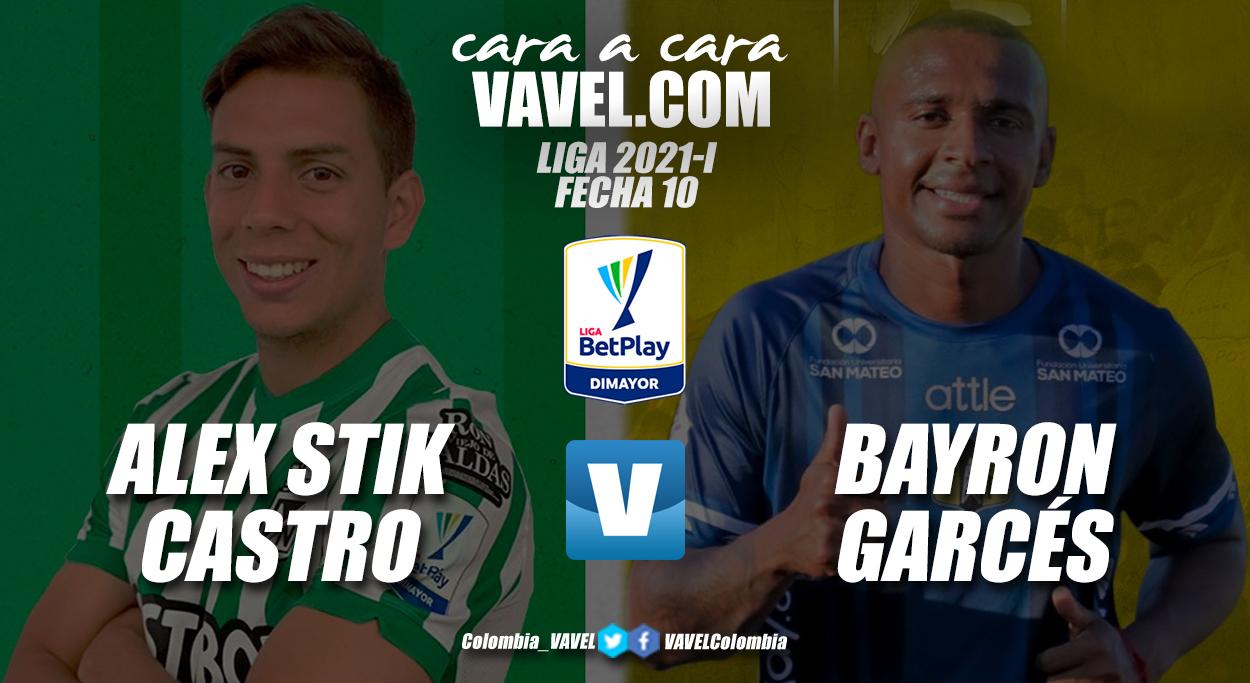 Cara a cara: Alex Castro vs Bayron Garcés