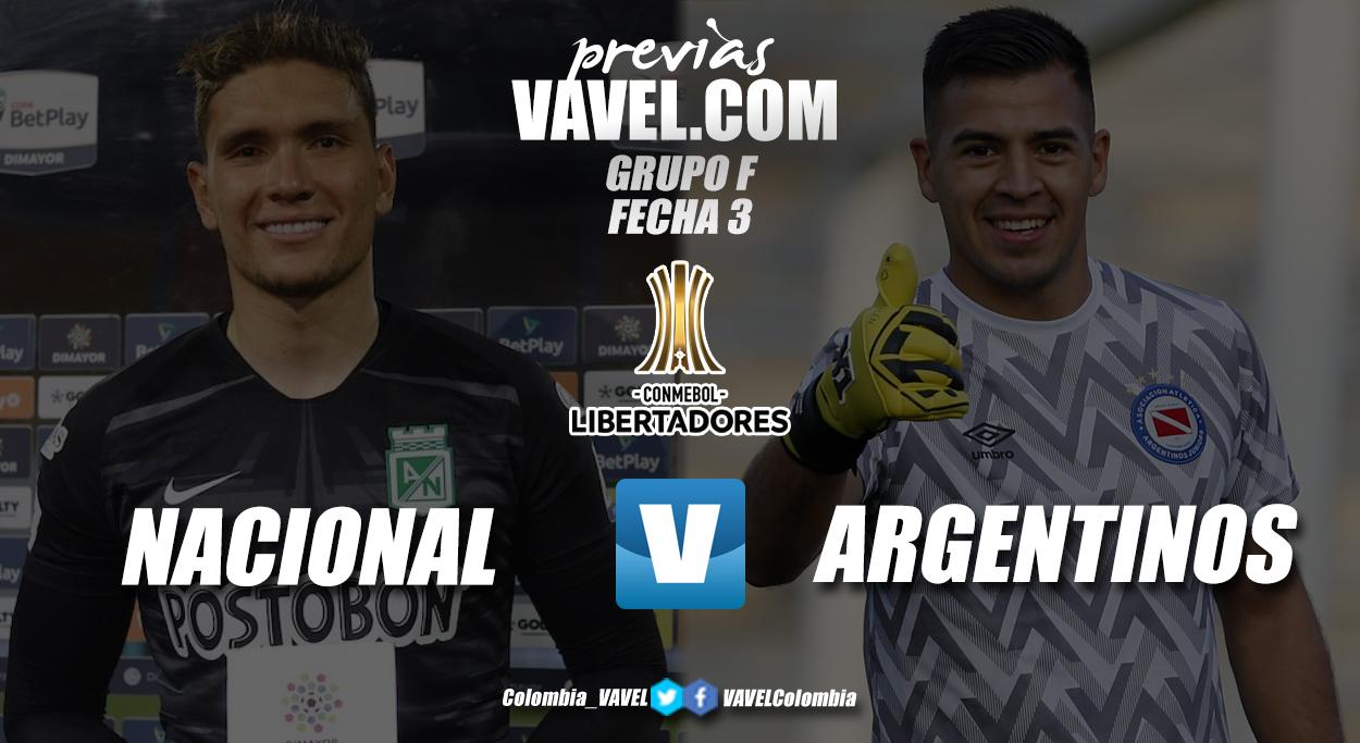 Previa Atlético Nacional vs. Argentinos Juniors: pasar la página y seguir adelante