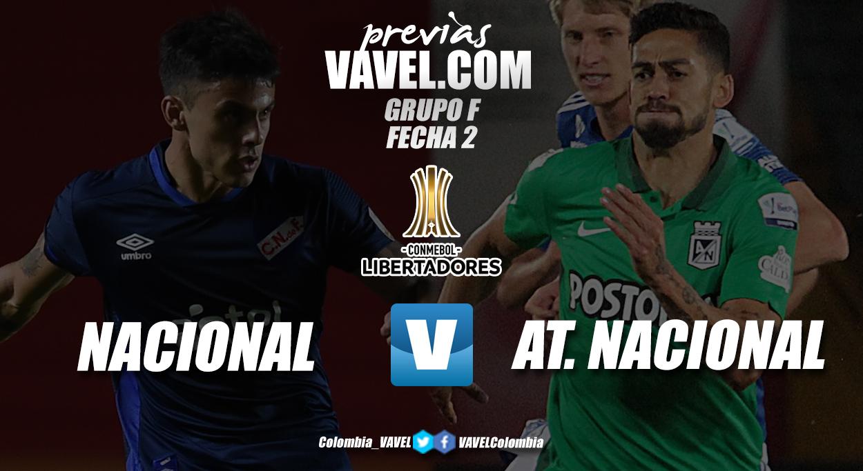 Previa Club Nacional vs. Atlético Nacional: se juega la segunda fecha de la Copa Libertadores