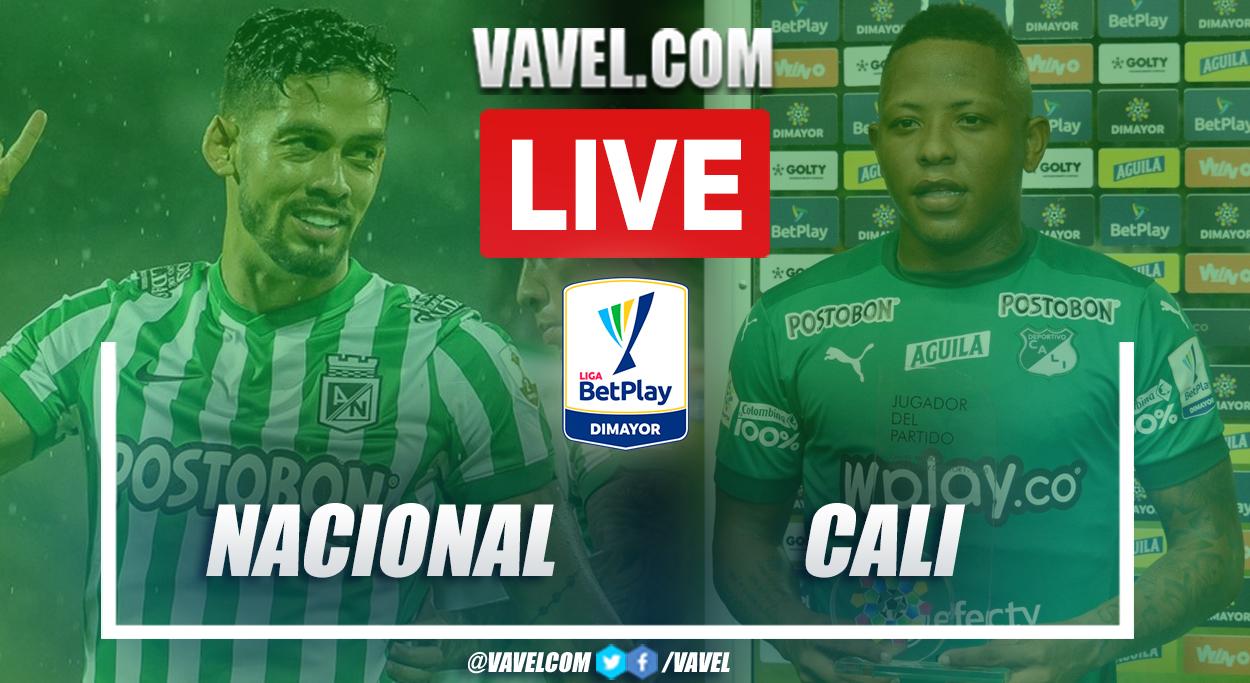 Goals and Higlights: Nacional (2-0) Cali in Liga BetPlay Match