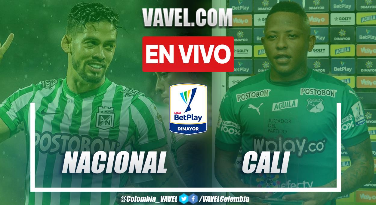 Resumen: Nacional (2-0) Cali en la fecha 4 de la Liga BetPlay 2021-II