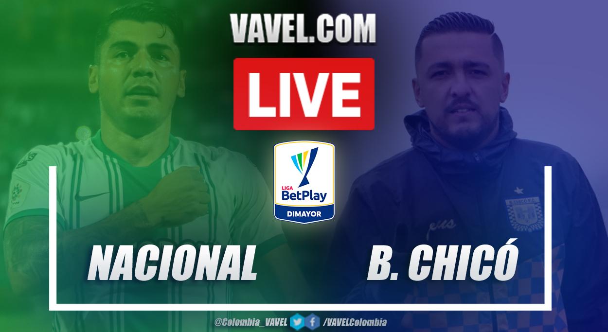 Resumen y goles: Atlético Nacional (2-0) Boyacá Chicó por la fecha 5 de la Liga BetPlay 2021-I