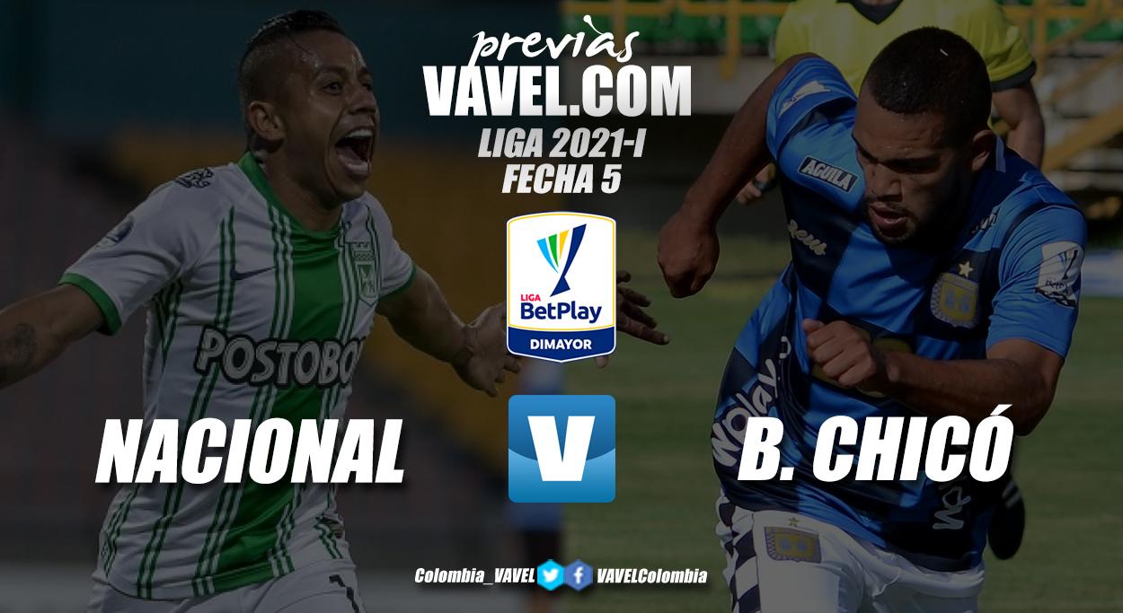 Previa Atlético Nacional vs Boyacá Chicó: el 'verdolaga' buscará dejar en jaque al 'ajedrezado'