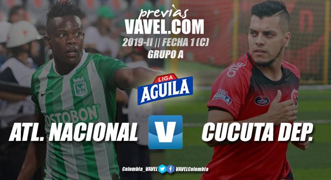 Previa Atlético Nacional vs. Cúcuta: un partido que marcará el camino para la gran final del torneo