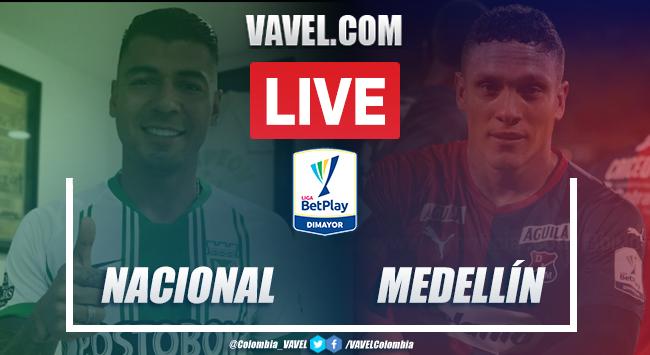 Resumen y goles Nacional vs. Medellín (1-1)