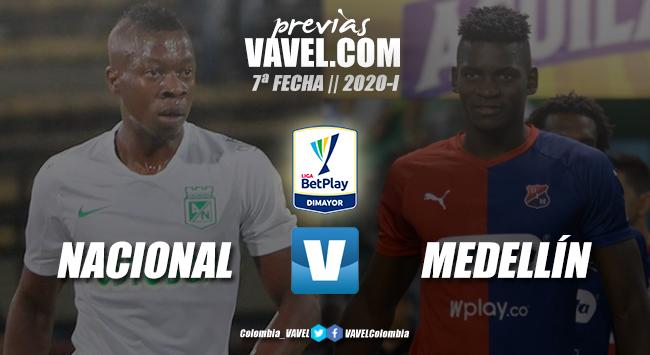 Previa Atlético Nacional vs. Independiente Medellín: ¿reiteración o revancha?