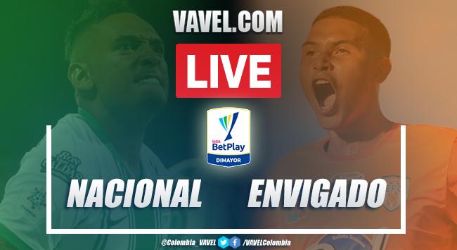 Resumen y goles: Nacional vs Envigado (3-2) por Liga BetPlay