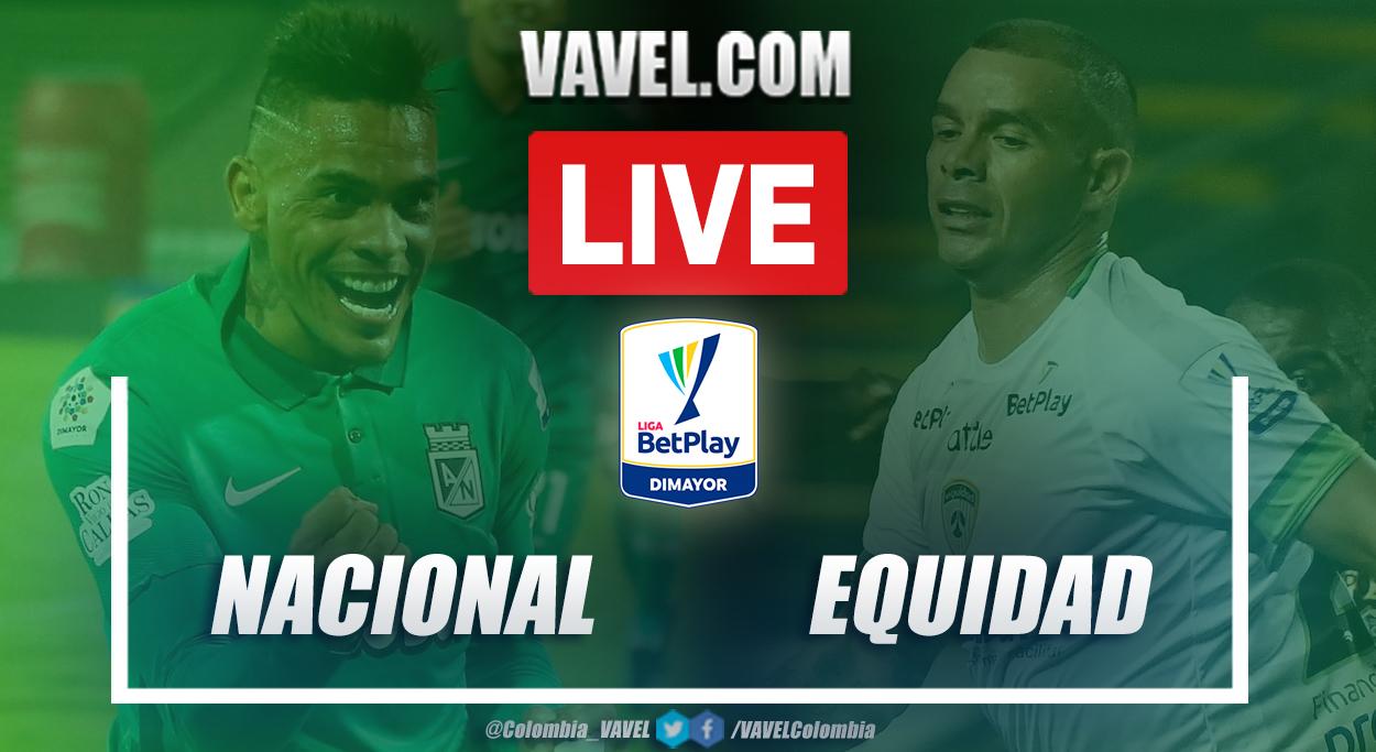 Resumen Nacional vs Equidad (2-2) en los cuartos de final (vuelta) por Liga BetPlay 2021-I