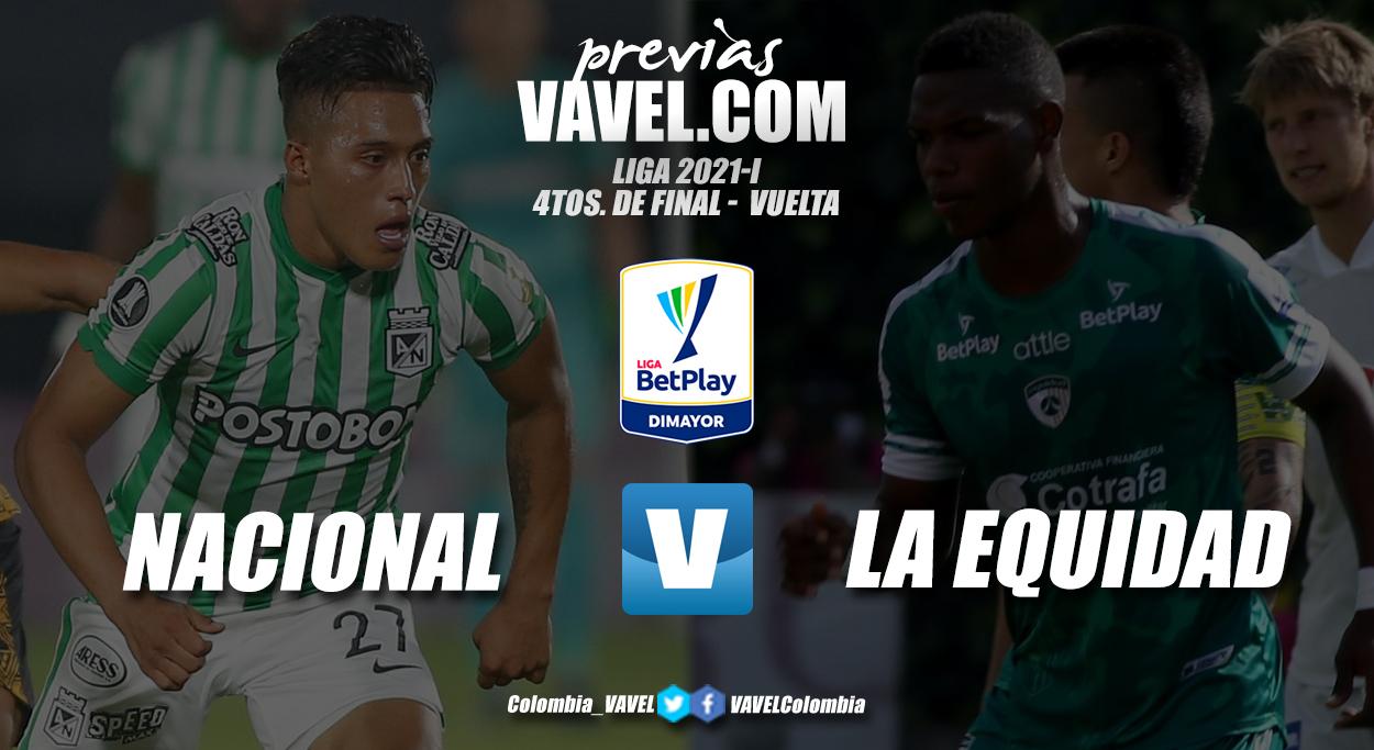 Previa Atlético Nacional vs. La Equidad: revancha por un cupo en las semifinales