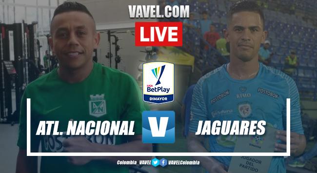 Atlético Nacional vs. Jaguares de Córdoba en vivo cómo ver transmisión TV en directo online por la Liga BetPlay 2020-I | 01/02/2020 - VAVEL Colombia