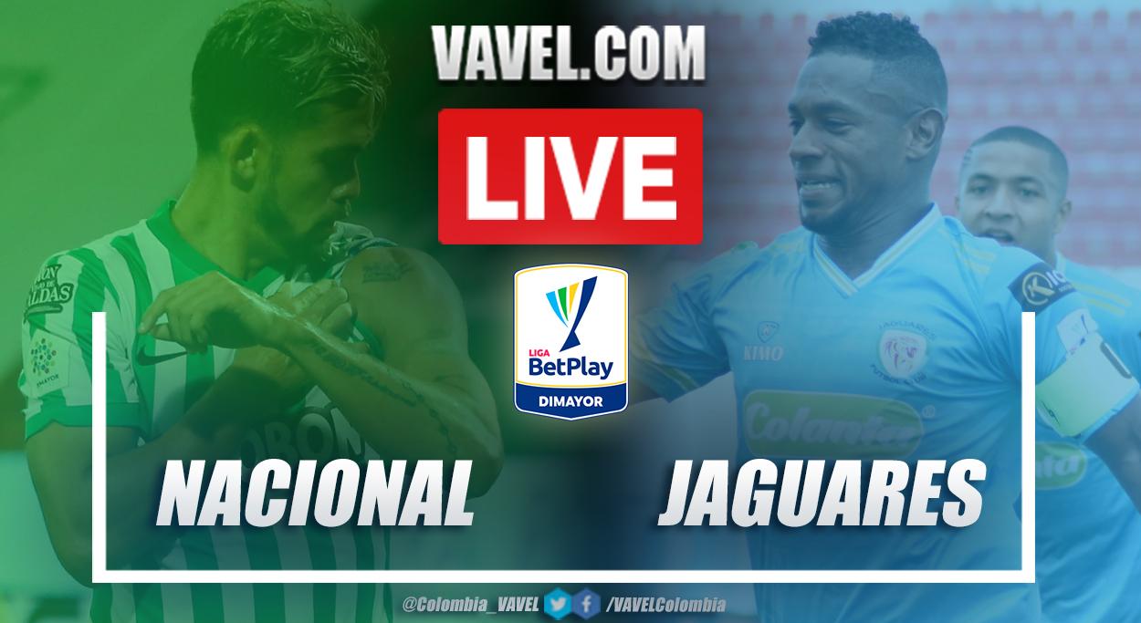 Resumen Nacional vs Jaguares (3-1) en la fecha 14 por Liga BetPlay 2021-I