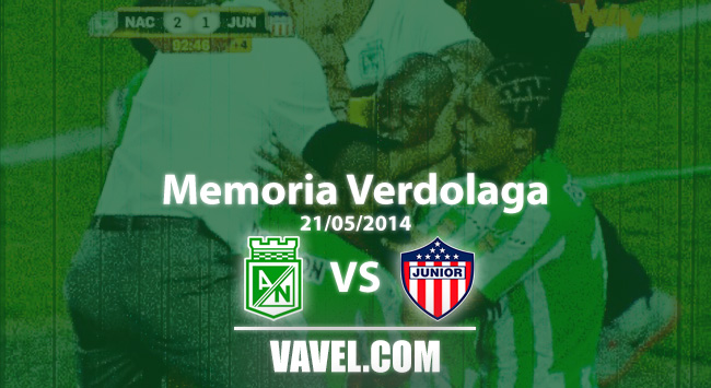 Memoria 'verdolaga': título agónico y la mentalidad arrolladora del Nacional de Osorio