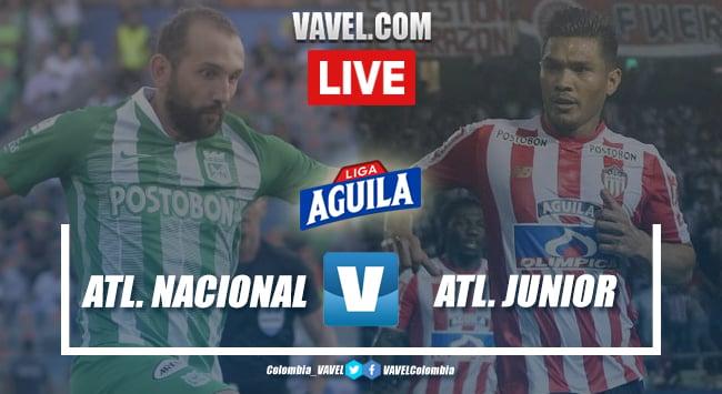 Resumen Atlético Nacional vs. Junior de Barranquilla (2-2)