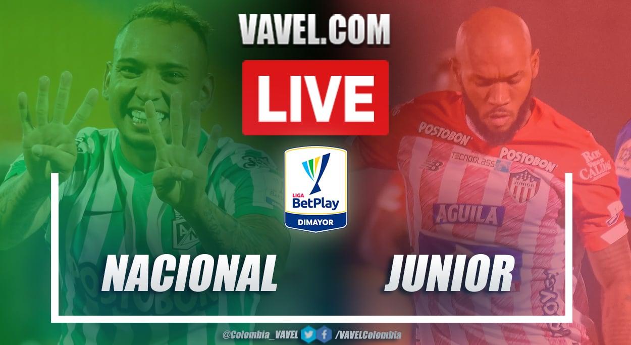 Resumen Nacional vs Junior (1-0) en la fecha 12 por Liga BetPlay