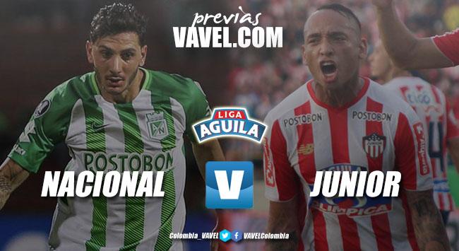 Previa Atlético Nacional vs Junior: el 'verde' tiene otra final en el Atanasio