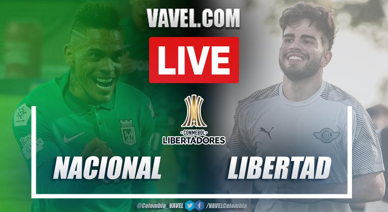 Resumen Nacional vs Libertad (4-1) en fase 3 por Copa Libertadores 2021