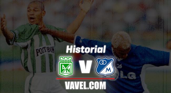 Historial Atlético Nacional vs Millonarios: rivalidad histórica a favor del azul