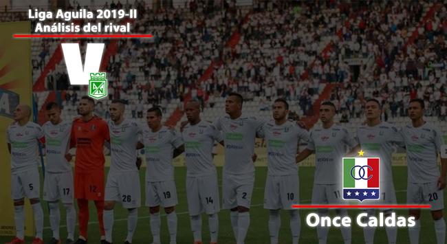 Atlético Nacional, análisis del rival: Once Caldas