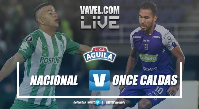 Resultado Atlético Nacional 0-0 por la Liga Águila 2019
