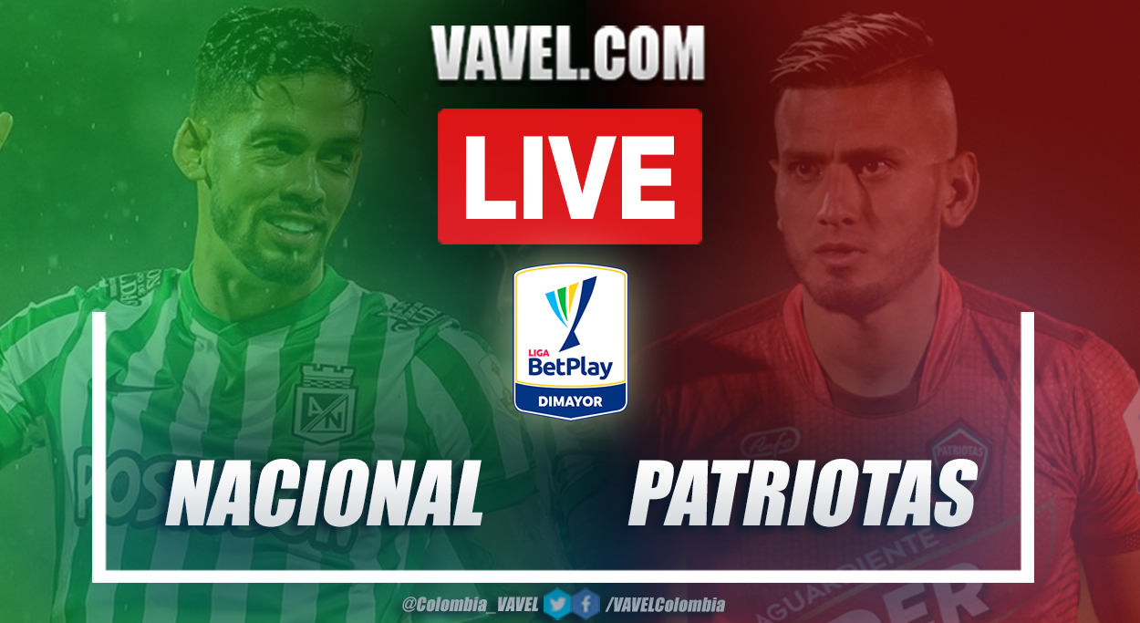 Resumen Nacional vs Patriotas (7-1) en la fecha 19 por Liga BetPlay 2021-I