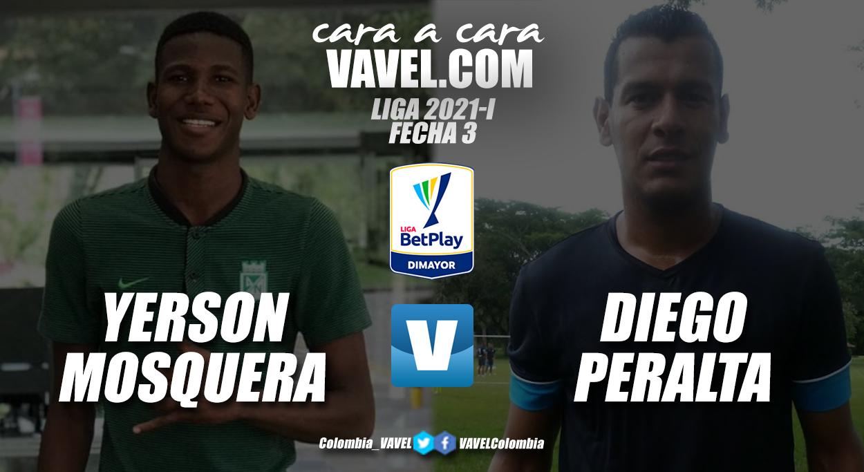 Cara a cara: Yerson Mosquera vs Diego Peralta