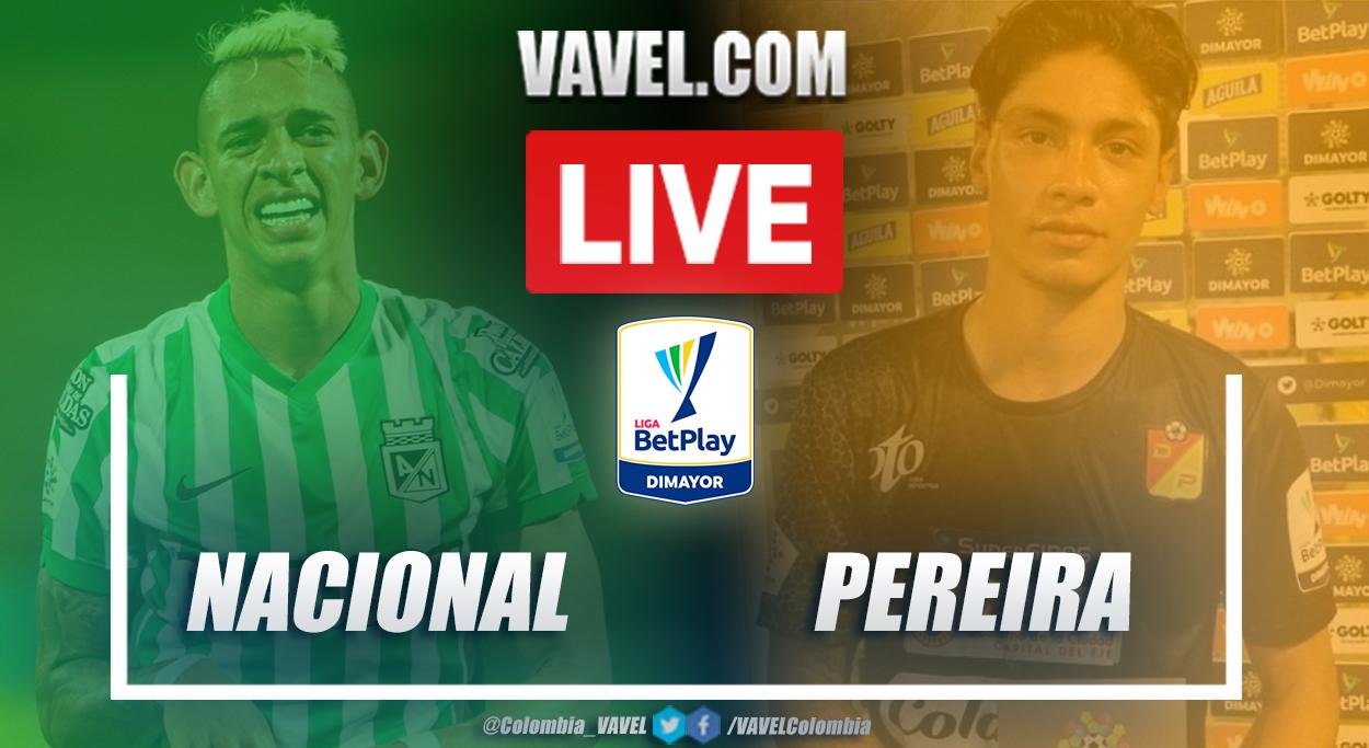Resumen Nacional vs Pereira (5-2) en la fecha 3 por Liga BetPlay 2021-I