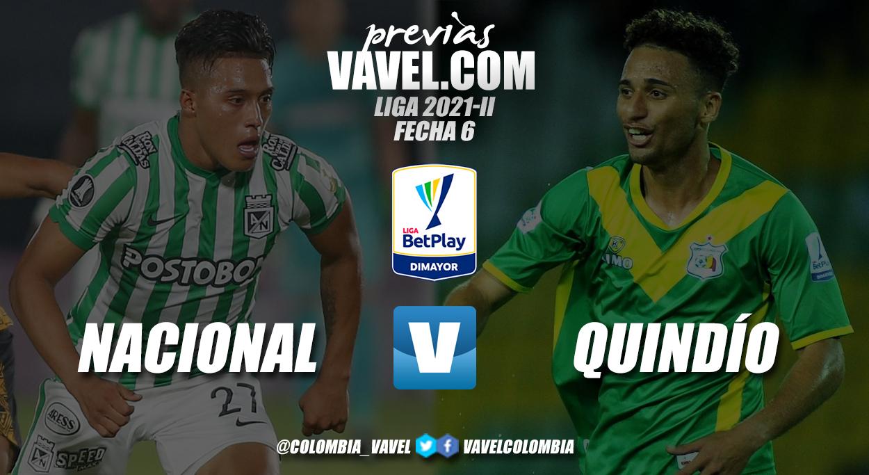 Previa Atlético Nacional vs Deportes Quindio: duelo que se vuelve a dar después de ocho años