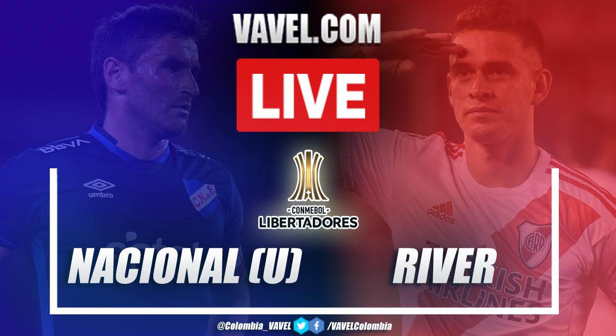 Resumen: Nacional vs River (2-6) por la vuelta de cuartos de final de la Copa Libertadores 2020