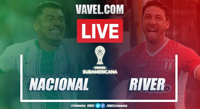 Resumen: Nacional River Plate (U) en Copa Sudamericana (1-1)