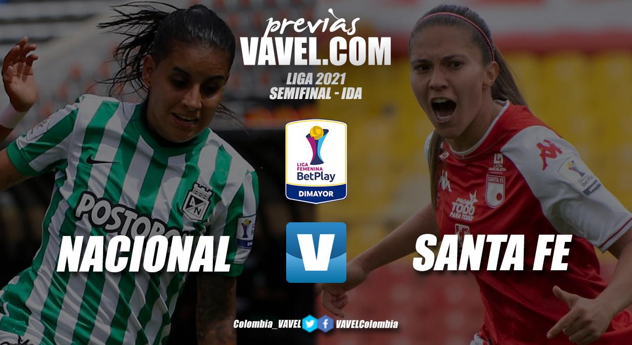 Previa Atlético Nacional vs Santa Fe: primer round por un cupo a la final