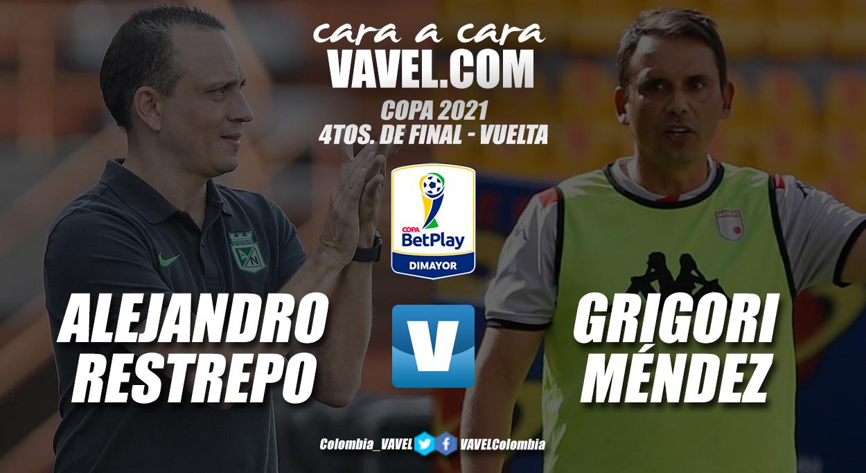 Cara a cara: Alejandro Restrepo vs. Grigori Méndez