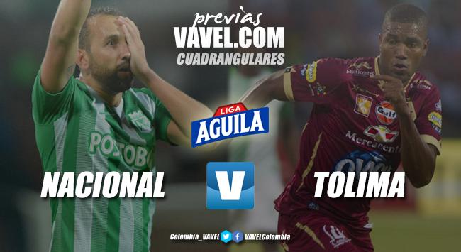 Previa Atlético Nacional vs Deportes Tolima: dos históricos que buscan el liderato