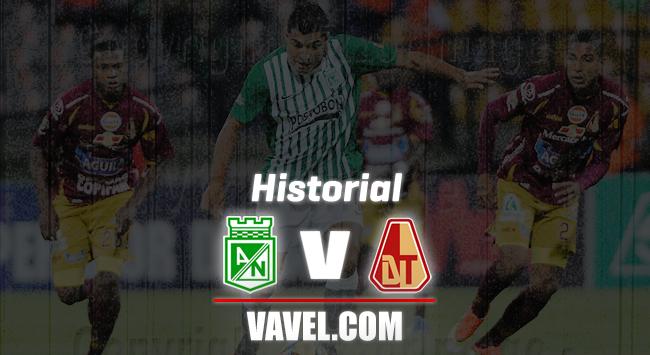 Historial Atlético Nacional vs. Deportes Tolima: los números se escriben con 'verde'