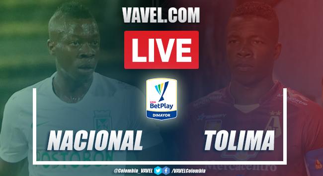 Resumen: Nacional vs Tolima (1-2) por la Liga BetPlay