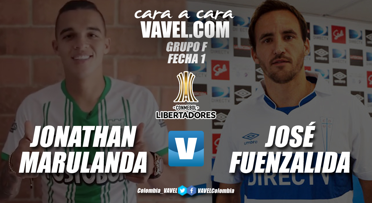 Cara a cara: Jonathan Marulanda vs José Fuenzalida