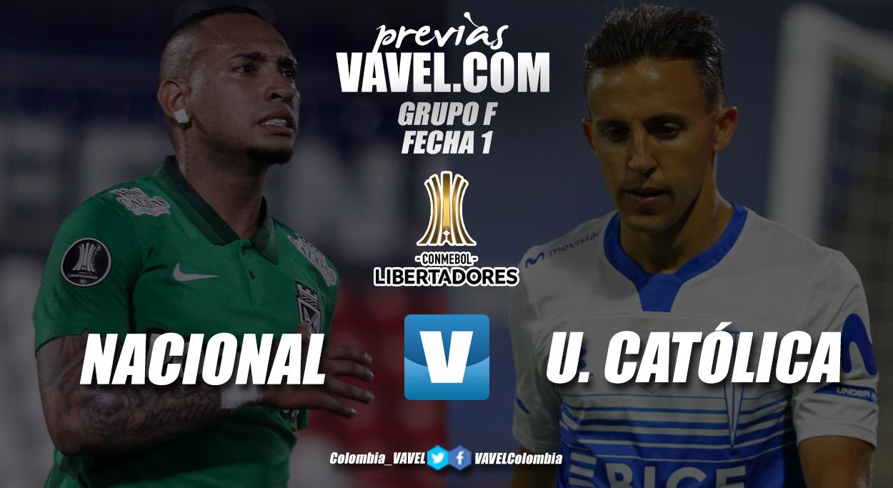 Previa Atlético Nacional vs. Universidad Católica: tres puntos para iniciar con pie derecho