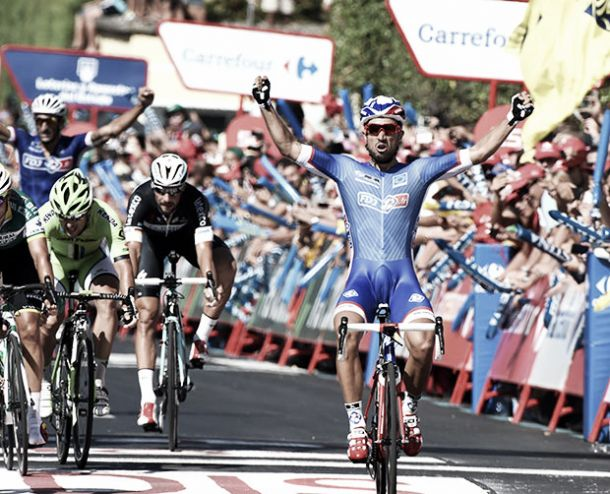 "Nacer Bouhanni: ""Mi objetivo era ganar una etapa lo antes posible"""
