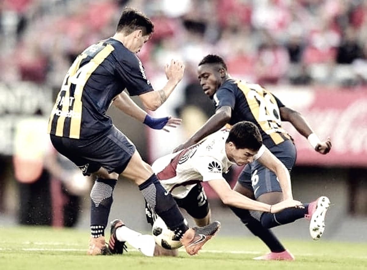 Central perdió 2-0 en El Monumental